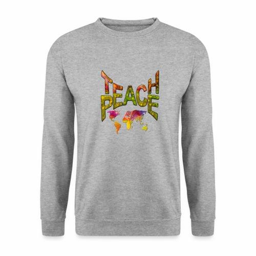 Teach Peace - Men's Sweatshirt