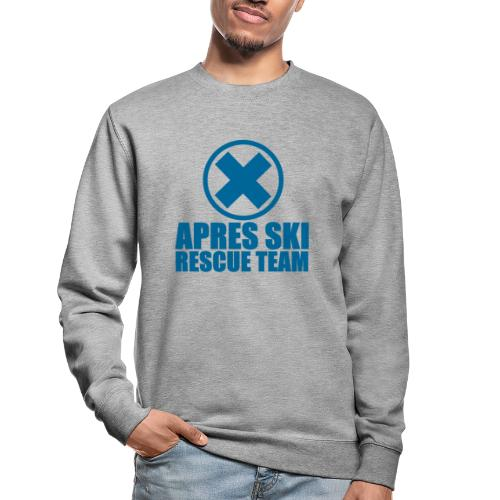 apres-ski rescue team - Unisex sweater