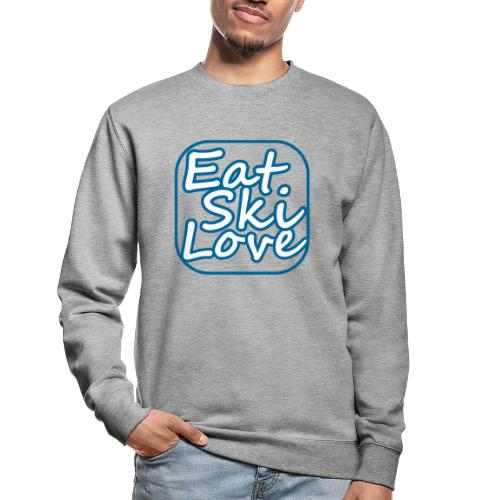 eat ski love - Unisex sweater