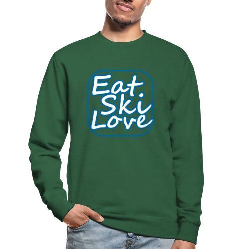 eat ski love - Unisex sweater