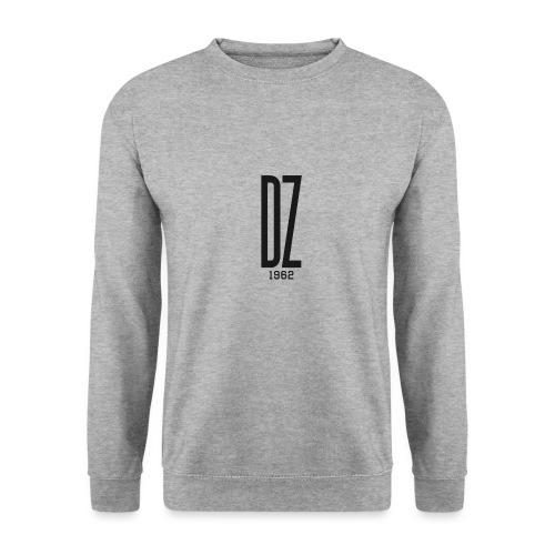 Logo transparent noir DZ 1962 - Sweat-shirt Unisex
