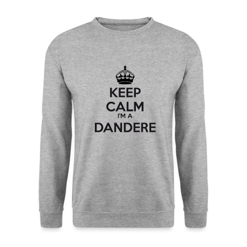 Dandere keep calm - Men's Sweatshirt