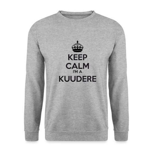 Kuudere keep calm - Unisex Sweatshirt