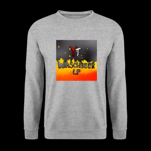 Waschbeer Design 2# Mit Flammen - Männer Pullover