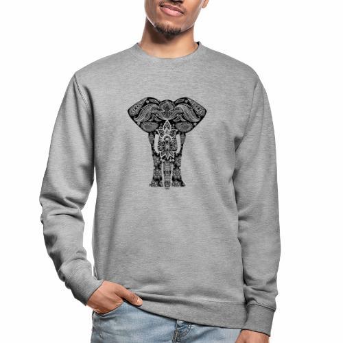 Ażurowy słoń - Bluza unisex