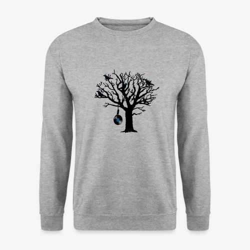 Musical Birds in Tree 2 blau Hangman Vinyl - Unisex Pullover