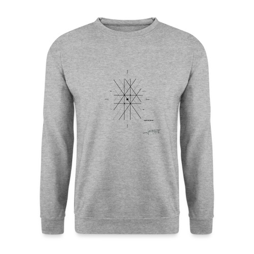 mathematique du centre_de_lunivers - Sweat-shirt Homme