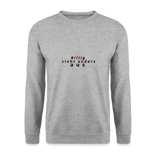 Billig nein danke - Männer Pullover