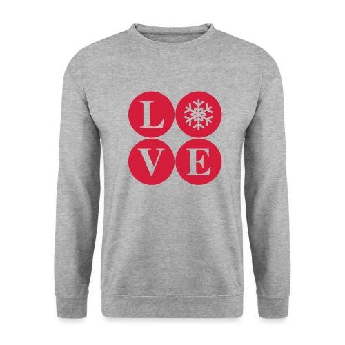 LOVE snow – Winterliebe - Männer Pullover