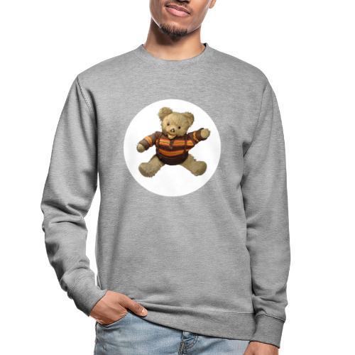 Teddybär - orange braun - Retro Vintage - Bär - Unisex Pullover