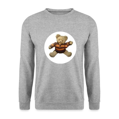 Teddybär - orange braun - Retro Vintage - Bär - Männer Pullover