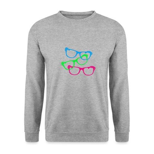 lunettes - Sweat-shirt Unisexe