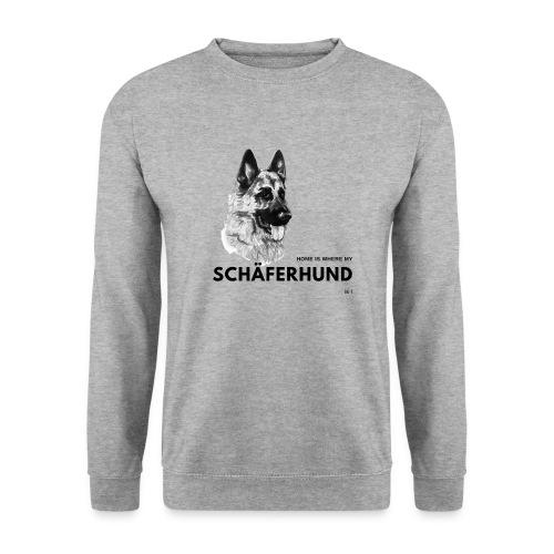 Home is where my Schäferhund is ! - Männer Pullover