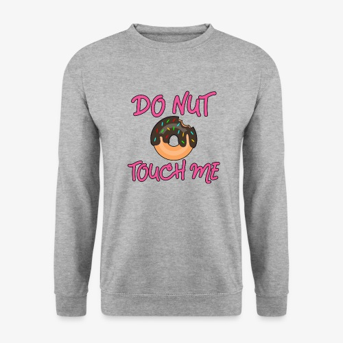 Donut touch me - Männer Pullover
