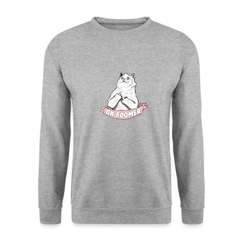 OK Boomer Cat Meme - Men's Sweatshirt