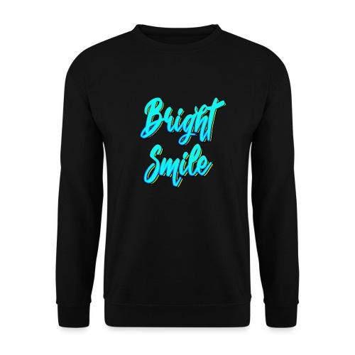 Bright smile bleu fluo - Sweat-shirt Homme
