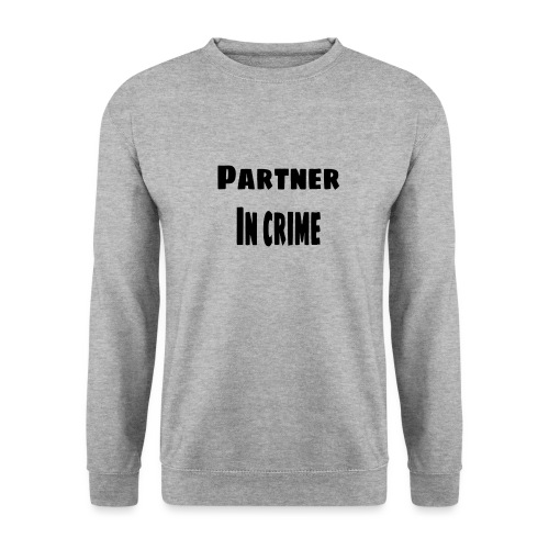 Partner in crime black - Unisextröja