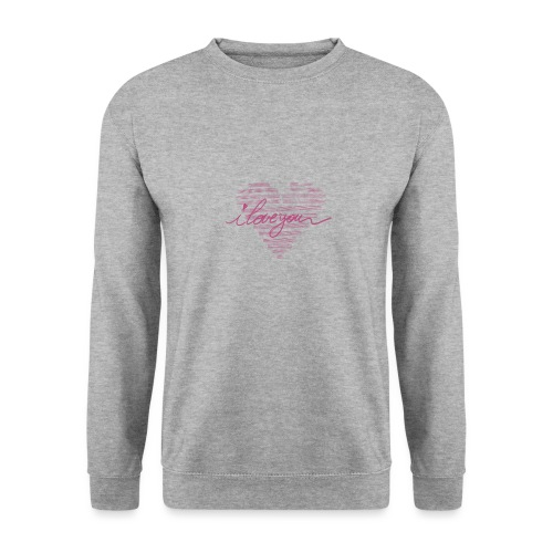 In kalk letters - Sweat-shirt Unisex