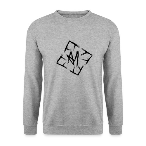 Across Yourself - Logo black transparent - Unisex Sweatshirt