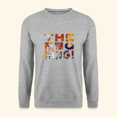 THE BBQ KING T SHIRTS TEKST - Unisex sweater