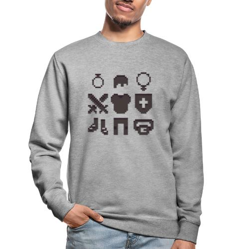 RPG Inventory Slots - Unisex sweater