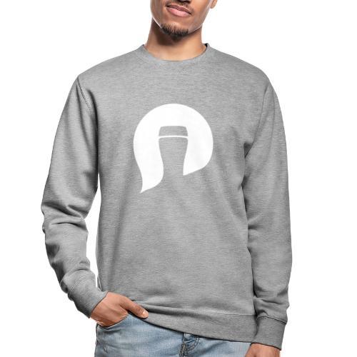 Pint Please symbol white - Unisex Sweatshirt