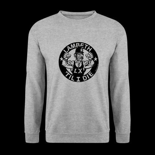 LAMBETH - BLACK - Unisex Sweatshirt