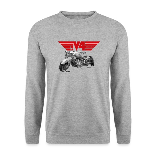 V4 Motorcycles red Wings - Unisex Pullover