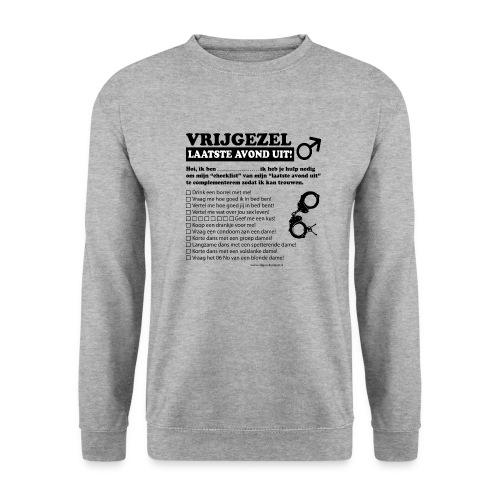 Vrijgezellenshirt man - Mannen sweater