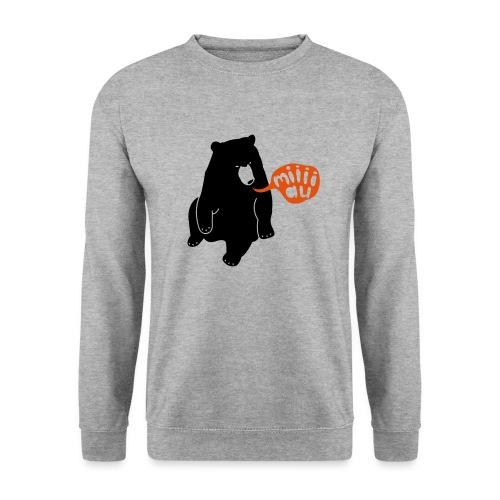 Bär sagt Miau - Unisex Pullover