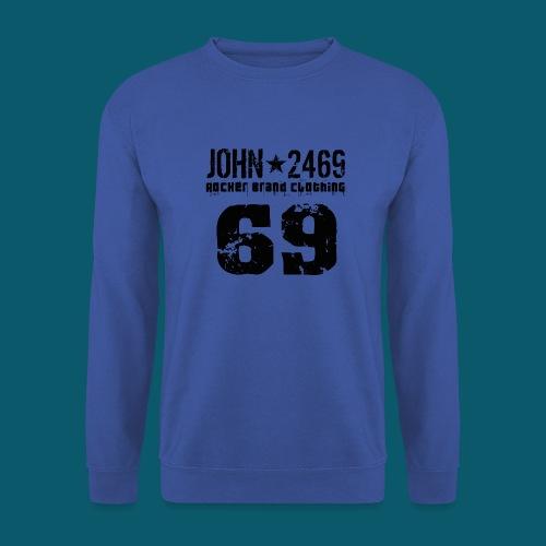 john 2469 numero trasp per spread nero PNG - Felpa unisex