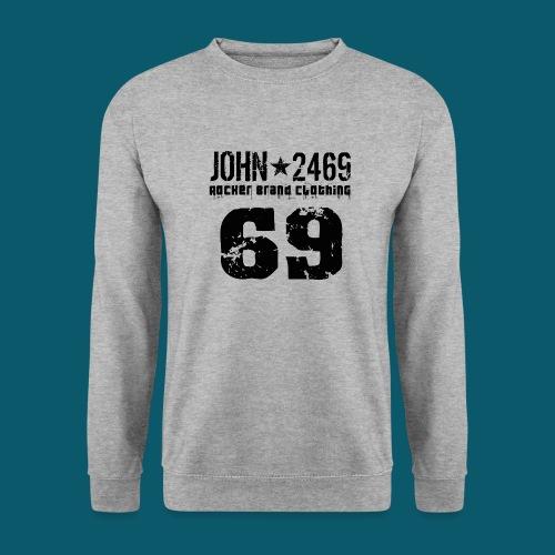 john 2469 numero trasp per spread nero PNG - Felpa da uomo