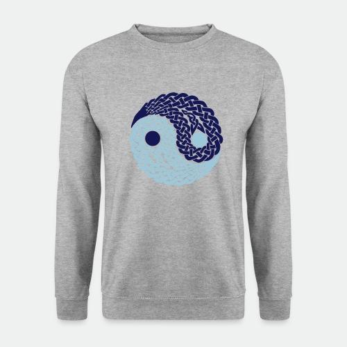 Yin und Yang Keltische Knoten Geschenk Yoga Zen - Unisex Sweatshirt