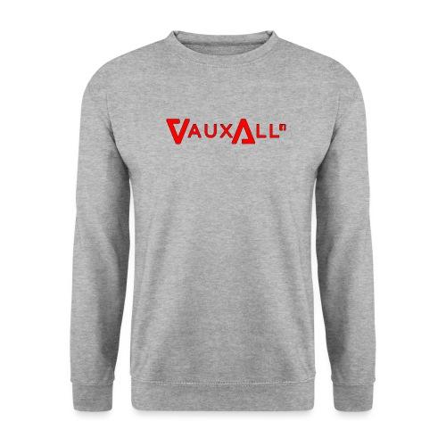VauxAll Logo   Red   Original - Unisex Sweatshirt