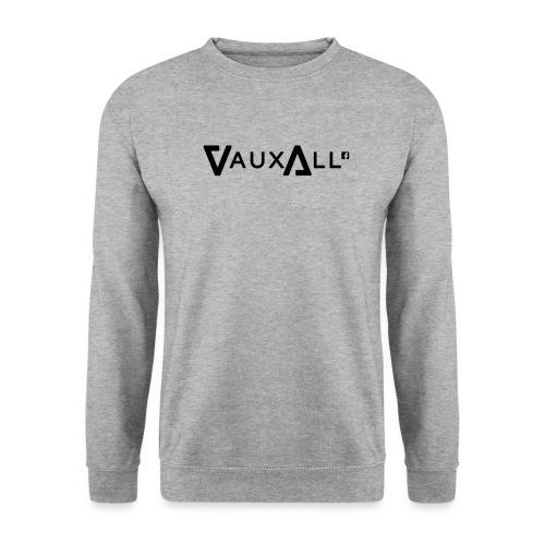 VauxAll Logo   Black   Original - Unisex Sweatshirt