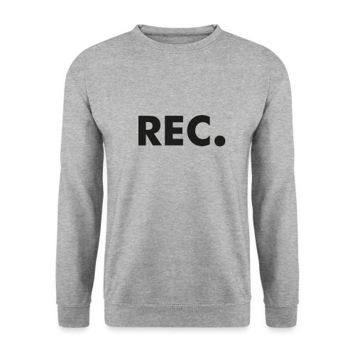 Rec zwart - Unisex sweater