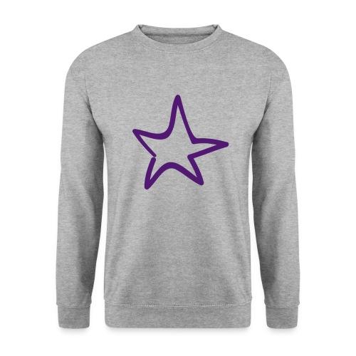 Star Outline Pixellamb - Unisex Pullover
