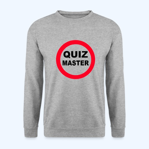Quiz Master Stop Sign - Men's Sweatshirt