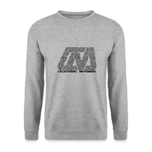 CM Logo aus Text schwarz - Männer Pullover