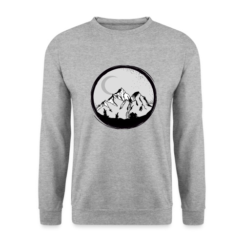berge png - Männer Pullover