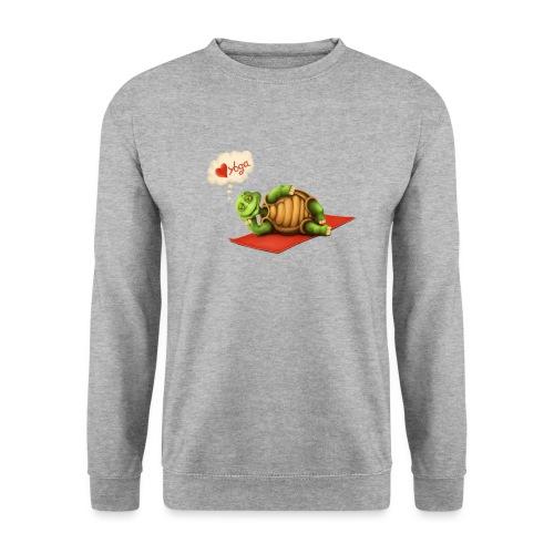 Love-Yoga Turtle - Männer Pullover
