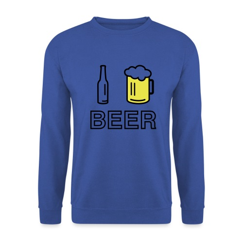 I Love Beer (2-farbig) - Unisex Pullover