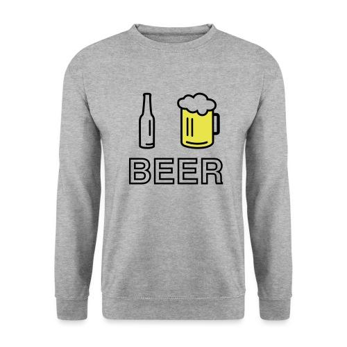 I Love Beer (2-farbig) - Männer Pullover