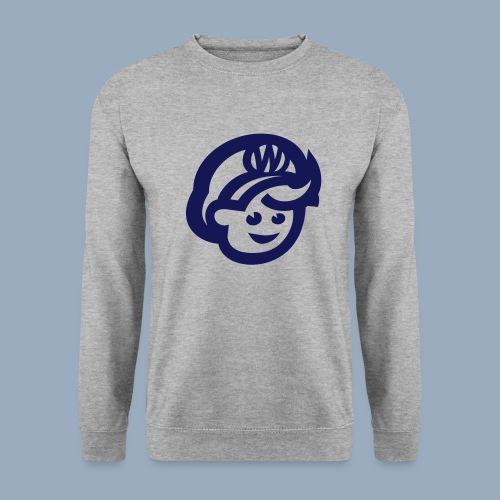 logo bb spreadshirt bb kopfonly - Men's Sweatshirt