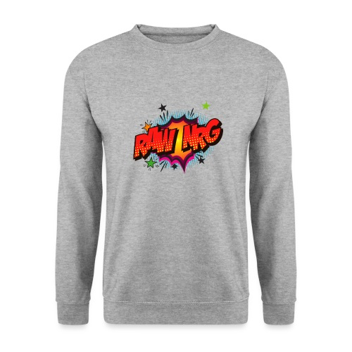 Raw Nrg comic3 - Unisex Sweatshirt