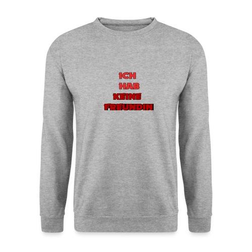 Ich habe keine Freundin Hoodie - Men's Sweatshirt