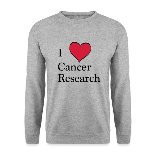 I love cancer research - Männer Pullover