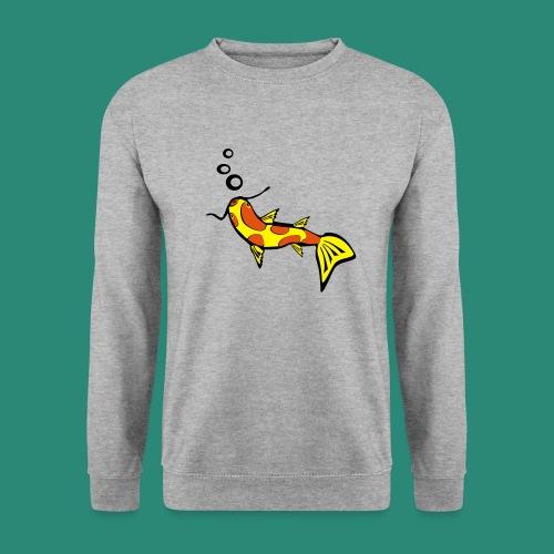 Einfach Fisch svg - Unisex Pullover