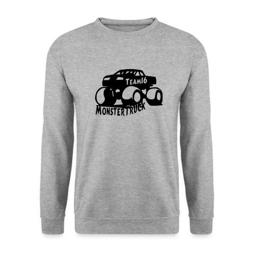 logo mtteam16 noir - Sweat-shirt Homme