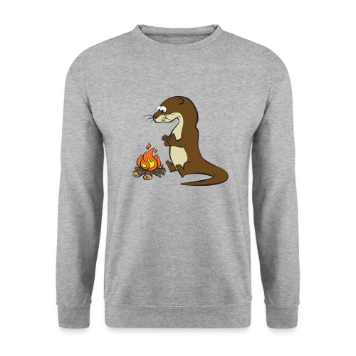 Song of the Paddle; Quentin campfire - Unisex Sweatshirt